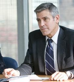 George Clooney will be making a big splash at the Toronto International Film Festival. He stars in Up In the Air, shown here, and The Men Who Stare at Goats.