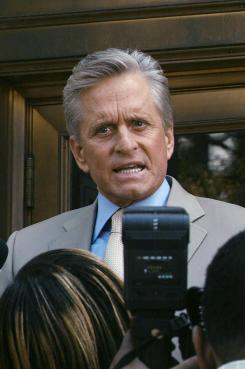 Michael Douglas plays a high-powered attorny in Beyond a Reasonable Doubt.