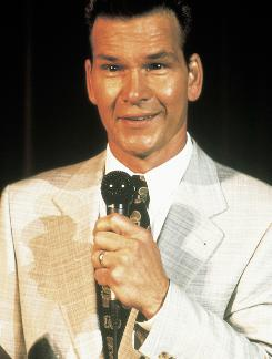 Patrick Swayze starred as a self-help guru with a secret in Donnie Darko.