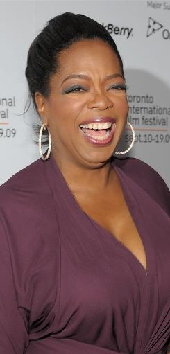 Oprah Winfrey: Her book club selection is Friday.