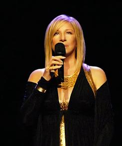 Barbra Streisand showcases her voice in Love Is the Answer.