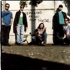 Pearl Jam's Mike McCready, left, Matt Cameron, Eddie Vedder, Jeff Ament and Stone Gossard.