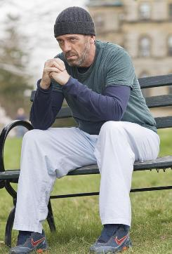 House (Hugh Laurie) has earned time out in the yard at the Mayfield Psychiatric Hospital in the House two-hour season premiere Monday.