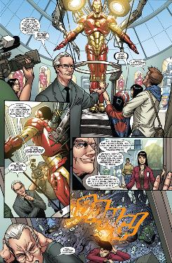 Tim Gunn joins forces with Iron Man in Models, Inc., a four-part comic-book series from Marvel.