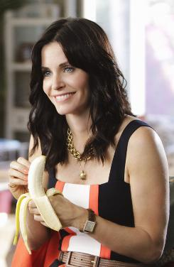 Meow: Courteney Cox returns to network TV as a single mother who is searching for love in ABC's new comedy Cougar Town.