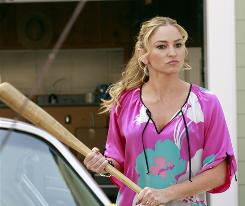 Drea DeMatteo stars as matriarch Angie Bolen, a tough Italian woman, in Desperate Housewives, premiering Sunday on ABC.