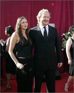 Actor Randy Quaid, with his wife Evi, has been in films such as Quick Change and Independence Day.