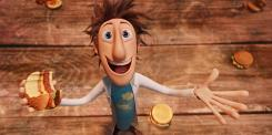Cloudy with a Chance of Meatballs, with Bill Hader as the voice of Flint Lockwood, was No. 1 for the second week ina row.