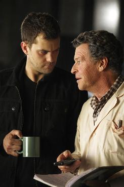 Peter (Joshua Jackson), left, and Walter (John Noble) have a stronger bond this season on the Fox sci-fi thriller Fringe.