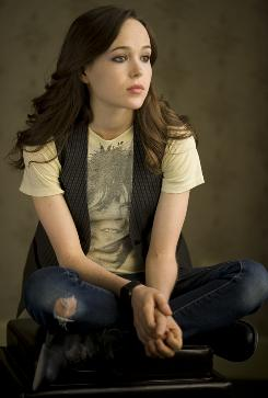 """I feel a lot more comfortable with press, with experimenting with style,"" says Ellen Page, who stars in Whip It, out Friday. The actress, now 22, won acclaim, and a 2008 best-actress Oscar nomination, as a pregnant teen in Juno."