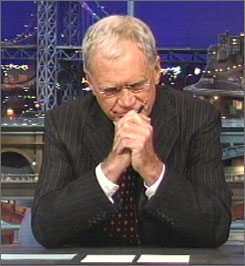 David Letterman revealed during Thursday's show that he had taken part in multiple affairs with female staffers and that someone had tried to blackmail him.