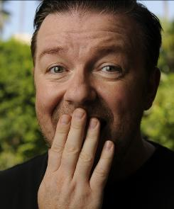 He said a funny: Ricky Gervais stars in The Invention of Lying, opening today.