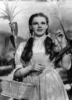 There's no place like home: Even Judy Garland's freckles stand out in the remastered Wizard of Oz.