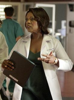 Good actress, bad show: Alfre Woodard was added as the head of surgery.