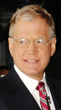 Letterman: Took Late Show audience by surprise.