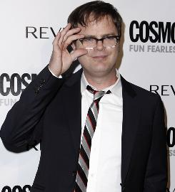 Rainn Wilson, shown at a Los Angeles event in March, invited friends to his home for brunch to support the Mona Foundation.