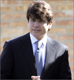 Rod Blagojevich  currently faces federal corruption charges for allegedly scheming to sell President Barack Obama's former U.S. Senate seat.