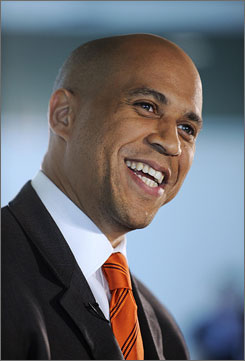 Newark Mayor Cory Booker will make an appearance on Tonight Show with Conan O'Brien.