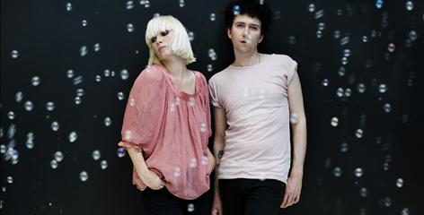 Sharin Foo, left, and Sune Rose Wagner are the Danish rock duo known as The Raveonettes.
