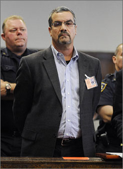 "Robert J. ""Joe"" Halderman, seen here in State Supreme Court in New York on Oct. 3, is accused of blackmailing David Letterman."