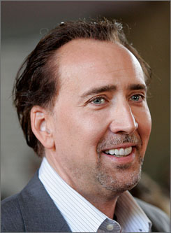 Nicolas Cage has starred in films such as Leaving Las Vegas, National Treasure and Adaptation.
