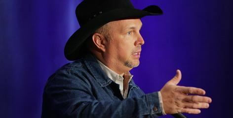 Garth Brooks suggests that a one-day radio boycott by recording artists could help raise awareness of music piracy. It was one of many subjects he touched on during a wide-ranging press conference on Thursday announcing his decision to come out of retirement.