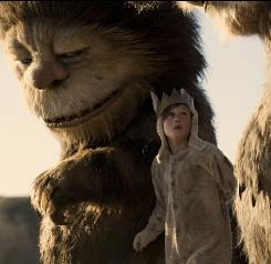 Max (Max Records) meets Carol (voiced by James Gandolfini), one of the Wild Things, when he runs away.