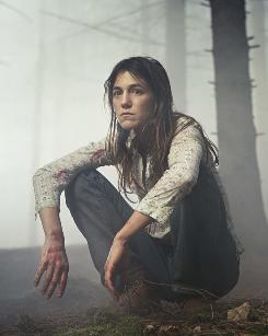 Fearful and feral: Charlotte Gainsbourg stars in Lars Von Trier's Antichrist.