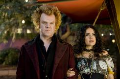 John C. Reilly and Salma Hayek star in this hybrid tale of teenagers, a poisonous spider and warring vampire factions.