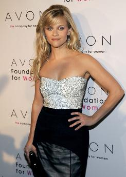"A new ""girly"" perfume: But for Reese Witherspoon, the cause is serious business."