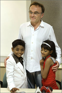 Before leaving India, Slumdog director Danny Boyle and producer Christian Colson set up trust funds and monthly stipends for Azharuddin Mohammed Ismail and Rubina Ali, on the condition that they atttend and finish school.
