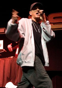 Eminem: His star was rising when he performed at the 2000 Voodoo.