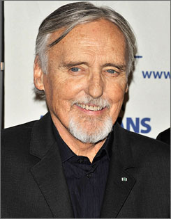 Dennis Hopper has starred in films such as Easy Rider, Blue Velvet and Speed