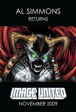 'Image United' - featuring art from six of the seven original Image Comics founders - debuts November 25.