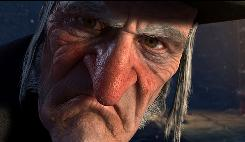 Ebenezer Scrooge, voiced by Jim Carrey, should have been smiling this weekend as A Christmas Carol was No. 1.