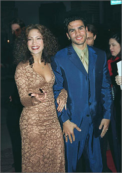 Lopez and Noa, shown here in 1997, were married for less than a year.