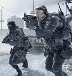 Tough choices: Players can decide whether to attack civilians in Call of Duty: Modern Warfare 2.