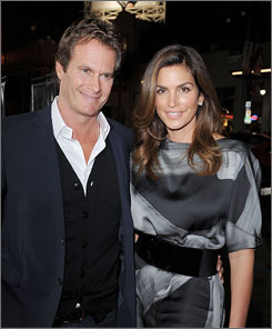 Rande Gerber and Cindy Crawford married in 1998.