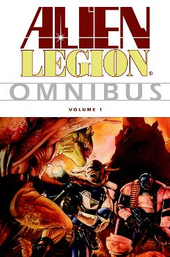 Cover image from Alien Legion Omnibus Volume 1, available November 18 from Dark Horse Books