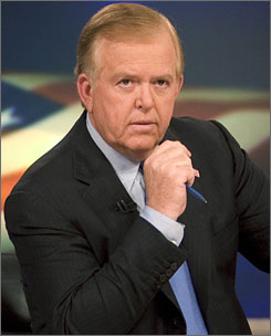 At the request of CNN management, Dobbs had been trying to do a straight newscast for the past few months, but felt it wasn't working.