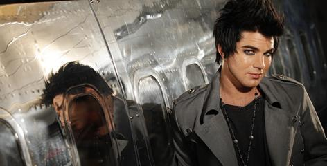 "American Idol  Season 8 runner-up Adam Lambert's debut album, For Your Entertainment, arrives Monday. ""There are tracks meant to inspire and heal,"" he says."