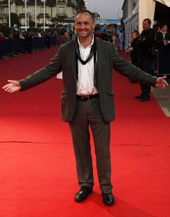 Irish writer Colum McCann, shown here arriving at the Deauville American film festival in France in September, won the National Book Award for fiction for Let the Great World Spin, a portrait of New York City in decay circa 1974.