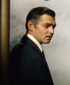 Rhett Butler did it: Clark Gable in his signature role in Gone With the Wind.