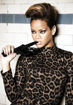 Rihanna goes for edgier music and lyrics on her fourth album in five years.