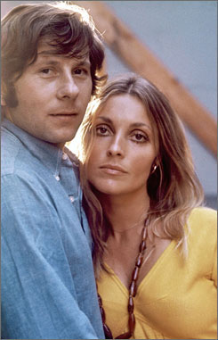 Roman Polanski and Sharon Tate in a photo from the 1960s.