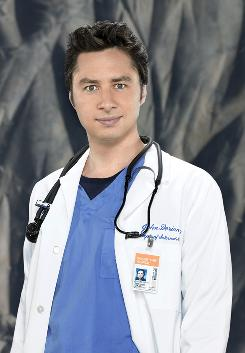 Braff: He'll return for six episodes of Scrubs this season.