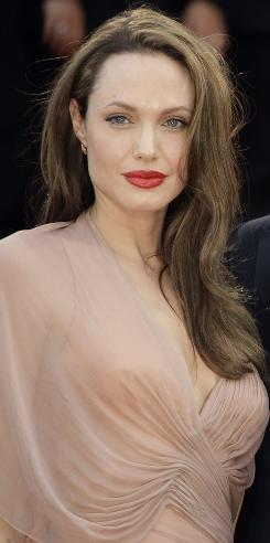 Angelina Jolie is sitting pretty atop the Celebrity Heat Index, nearly 150 points ahead of No. 2 Robert Pattinson.