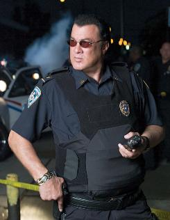 Not above the law: Steven Seagal has been an unpaid volunteer deputy since the 1980s.