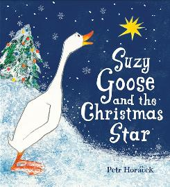 Take a gander: In Petr Horacek's delightful picture book, farm animals rally to get a Christmas star.