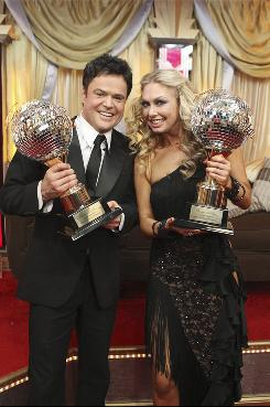 Donny Osmond and Kym Johnson were crowned champions of Dancing With the Stars on the season finale on Nov. 24.